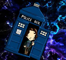 TARDIS in SPACE doctor who by Bantambb