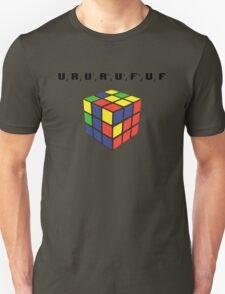Rubik's Cube Algorithm T-Shirt