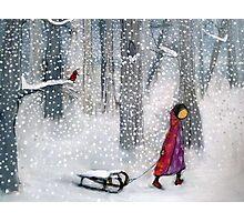 Quiet Snow Photographic Print
