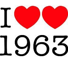 I heart 1963 by starkat