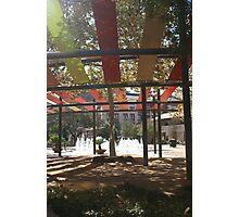 San Antonio Plaza Photographic Print
