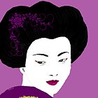 Geisha in Magenta  by kreativekate