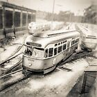 Vintage Streetcar Trolley 1087 by YoPedro