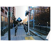 NJ Transit's 9th Street Station Hoboken NJ Poster