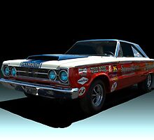 1967 Plymouth GTX  Stock Car by TeeMack