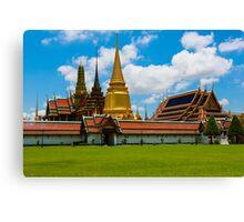 Wat Phra Kaeo, Bangkok Thailand Canvas Print