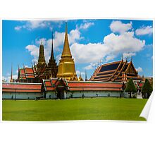 Wat Phra Kaeo, Bangkok Thailand Poster