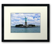 Statue of Liberty National Monument Framed Print