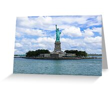 Statue of Liberty National Monument Greeting Card