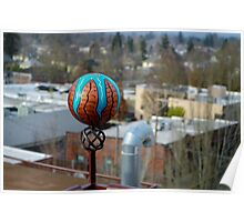 Rooftop Finial Poster