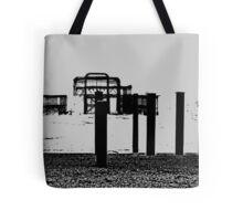 West Pier - Mono Tote Bag