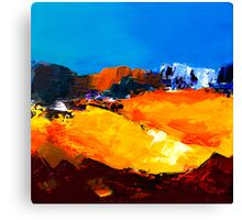 Sunlight in the Valley Canvas Print