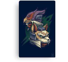 Lylat Heroes Canvas Print