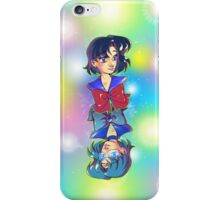 By Day, By Night - Sailor Mercury iPhone Case/Skin