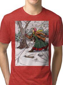 Snowflake Girl Tri-blend T-Shirt