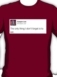 Funny Caspar Lee Tweet Shirt T-Shirt