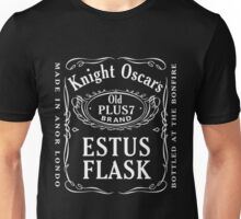 Estus Flask Bottle Label Design Unisex T-Shirt