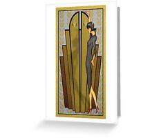 Atlantean Gold Greeting Card