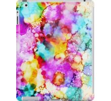 Colorama - Original Mixed Media by Mark Compton iPad Case/Skin