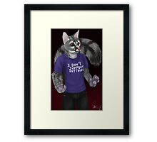 Unsupportive Framed Print