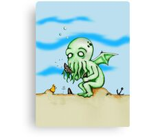 Cthulhu At Play Canvas Print