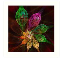 Glass Petals Art Print