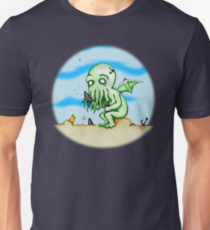Cthulhu At Play Unisex T-Shirt