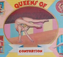 Queens of contortion. by Bob Hickman