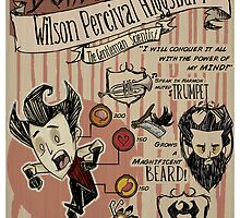 Don't Starve- Wilson Percival Higgsbury by VisualDiscord