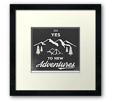 New Adventures Framed Print