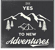 New Adventures Photographic Print