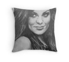 Jessie J Portrait Drawing Throw Pillow