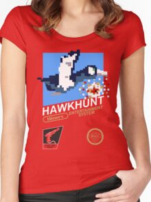 49ERS Hawkhunt Women's Fitted Scoop T-Shirt