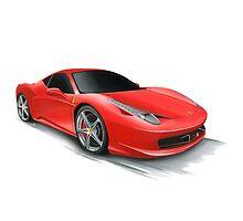 Ferrari 458 by BenLindsay