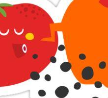 Tomato. Sticker