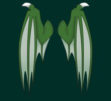 Dragon wings - green by 8Bit-Paws