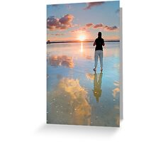 Standing on a Cloud - Wellington Point Qld Australia Greeting Card