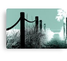 Path To Paradise Canvas Print