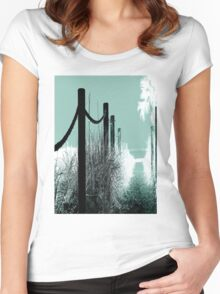 Path To Paradise Women's Fitted Scoop T-Shirt