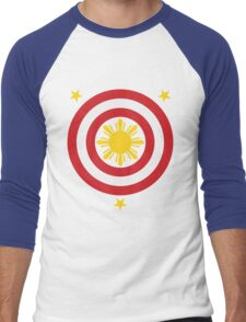 Captain Philippines! (For Blue Shirts Only) Men's Baseball ¾ T-Shirt