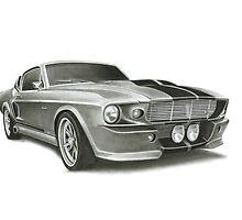 Mustang GT500 by BenLindsay