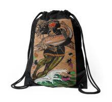 Hooked Drawstring Bag