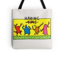Haring Time Tote Bag