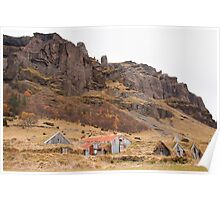 Abandoned Icelandic Ghost Farm Poster