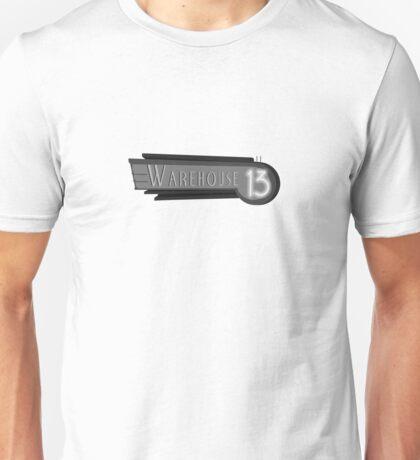 Art Deco Warehouse 13 Logo Unisex T-Shirt