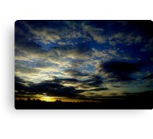 the journey home Canvas Print