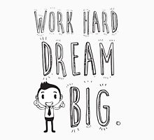 Work Hard Dream Big! Mens V-Neck T-Shirt