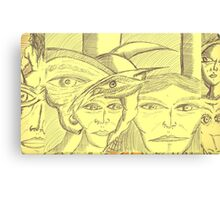 last in lin Canvas Print