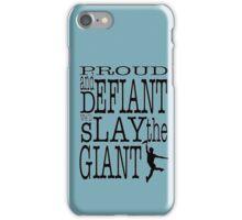 Newsies: Slay the Giant iPhone Case/Skin