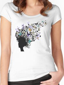 Mother Nature3 Women's Fitted Scoop T-Shirt